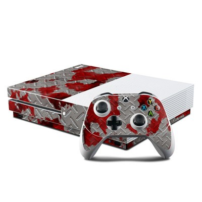 Microsoft Xbox One S Console and Controller Kit Skin - Accident