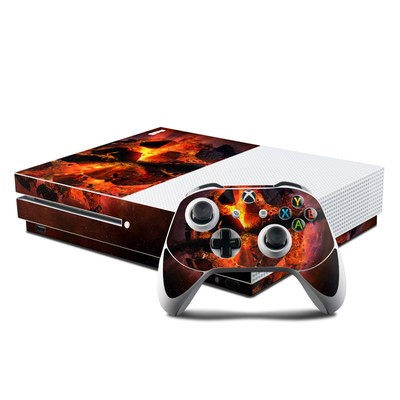 Microsoft Xbox One S Console and Controller Kit Skin - Aftermath