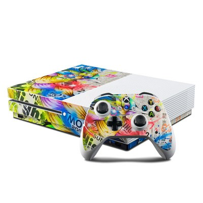 Microsoft Xbox One S Console and Controller Kit Skin - Aoitori