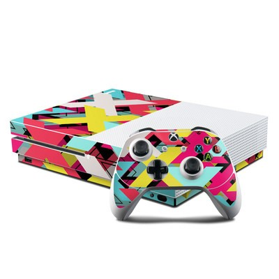 Microsoft Xbox One S Console and Controller Kit Skin - Baseline Shift