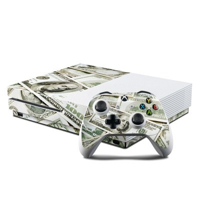 Microsoft Xbox One S Console and Controller Kit Skin - Benjamins