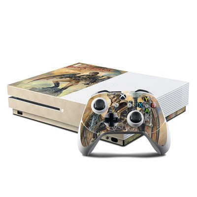 Microsoft Xbox One S Console and Controller Kit Skin - The Black Baron