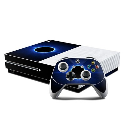 Microsoft Xbox One S Console and Controller Kit Skin - Blue Star Eclipse