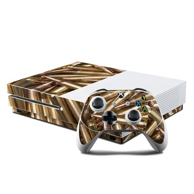 Microsoft Xbox One S Console and Controller Kit Skin - Bullets