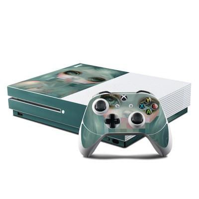 Microsoft Xbox One S Console and Controller Kit Skin - Censored Smile