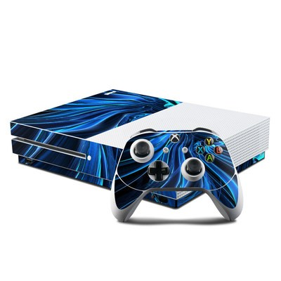 Microsoft Xbox One S Console and Controller Kit Skin - Cerulean