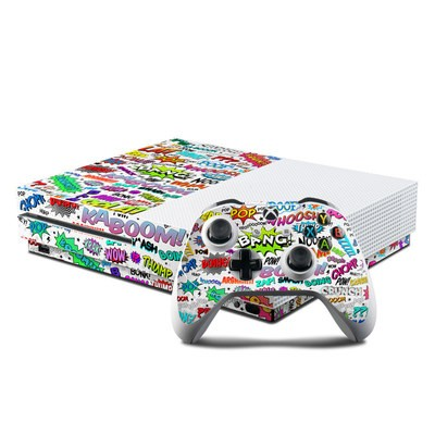 Microsoft Xbox One S Console and Controller Kit Skin - Comics