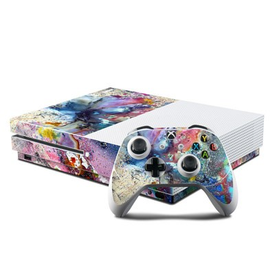 Microsoft Xbox One S Console and Controller Kit Skin - Cosmic Flower