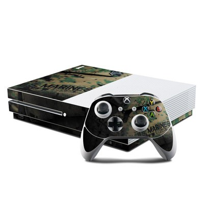 Microsoft Xbox One S Console and Controller Kit Skin - Courage