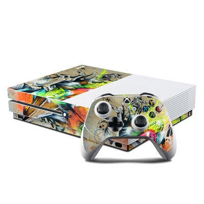 Microsoft Xbox One S Console and Controller Kit Skin - Dance