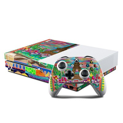 Microsoft Xbox One S Console and Controller Kit Skin - A Date With Fate