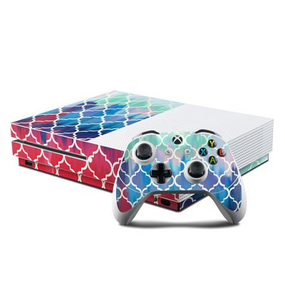 Microsoft Xbox One S Console and Controller Kit Skin - Daze