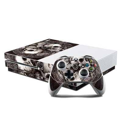 Microsoft Xbox One S Console and Controller Kit Skin - Dioscuri