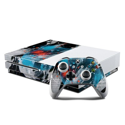 Microsoft Xbox One S Console and Controller Kit Skin - Element-Ocean
