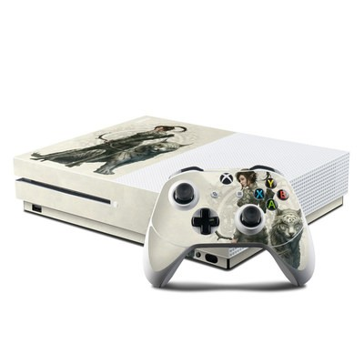 Microsoft Xbox One S Console and Controller Kit Skin - Half Elf Girl