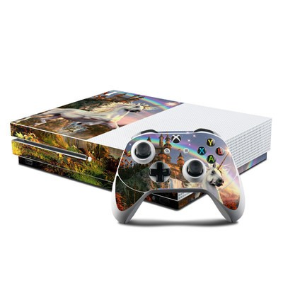 Microsoft Xbox One S Console and Controller Kit Skin - Evening Star