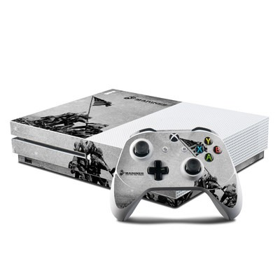Microsoft Xbox One S Console and Controller Kit Skin - Flag Raise