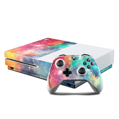 Microsoft Xbox One S Console and Controller Kit Skin - Galactic
