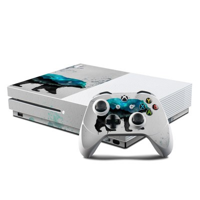 Microsoft Xbox One S Console and Controller Kit Skin - Grit