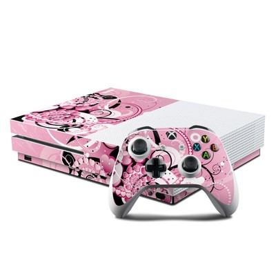 Microsoft Xbox One S Console and Controller Kit Skin - Her Abstraction