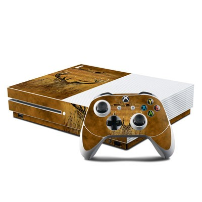 Microsoft Xbox One S Console and Controller Kit Skin - Hiding Buck