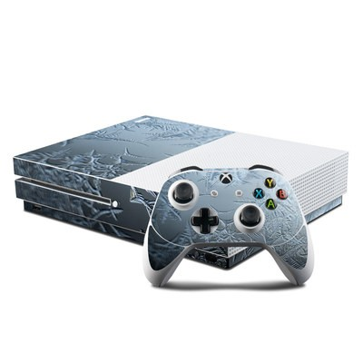 Microsoft Xbox One S Console and Controller Kit Skin - Icy