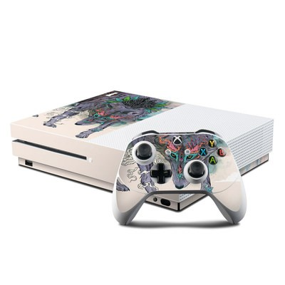 Microsoft Xbox One S Console and Controller Kit Skin - Journeying Spirit