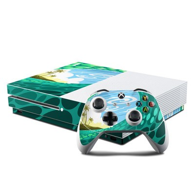 Microsoft Xbox One S Console and Controller Kit Skin - Lunch Break