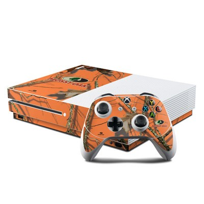 Microsoft Xbox One S Console and Controller Kit Skin - Break-Up Lifestyles Autumn