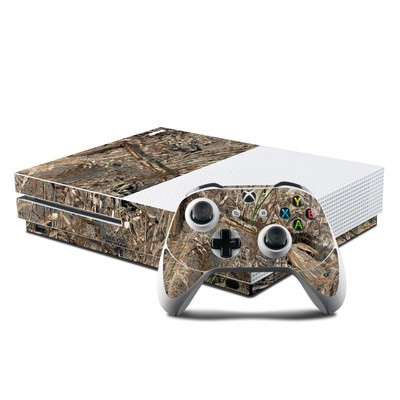 Microsoft Xbox One S Console and Controller Kit Skin - Duck Blind