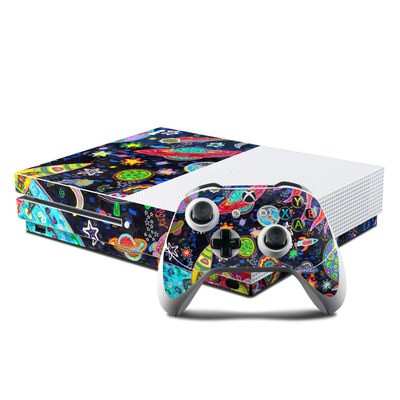 Microsoft Xbox One S Console and Controller Kit Skin - Out to Space