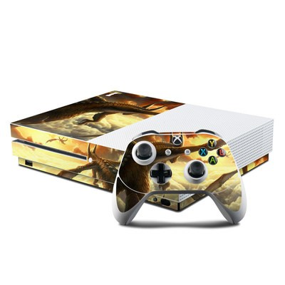 Microsoft Xbox One S Console and Controller Kit Skin - Over the Clouds