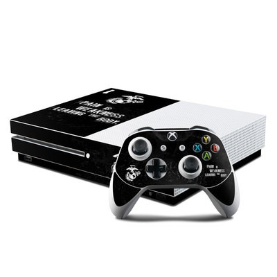 Microsoft Xbox One S Console and Controller Kit Skin - Pain