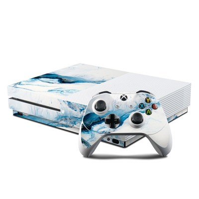 Microsoft Xbox One S Console and Controller Kit Skin - Polar Marble