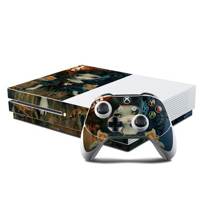 Microsoft Xbox One S Console and Controller Kit Skin - Pestilence