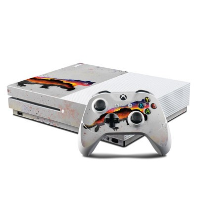 Microsoft Xbox One S Console and Controller Kit Skin - Resolve