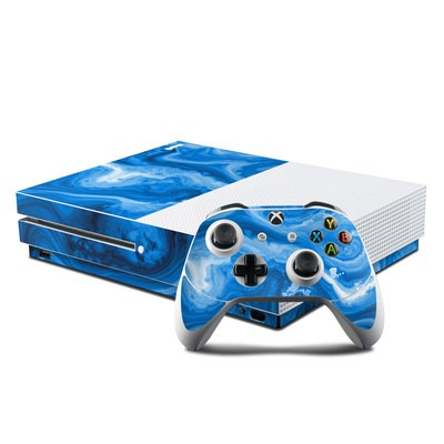 Microsoft Xbox One S Console and Controller Kit Skin - Sapphire Agate