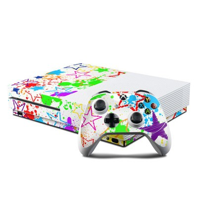 Microsoft Xbox One S Console and Controller Kit Skin - Scribbles