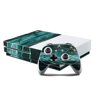 Microsoft Xbox One S Console and Controller Kit Skin - Shattered
