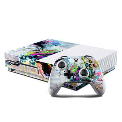 Microsoft Xbox One S Console and Controller Kit Skin - Streaming Eye