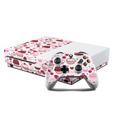 Microsoft Xbox One S Console and Controller Kit Skin - Sweet Shoppe