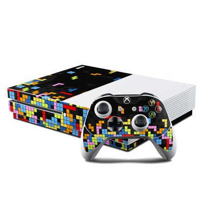 Microsoft Xbox One S Console and Controller Kit Skin - Tetrads
