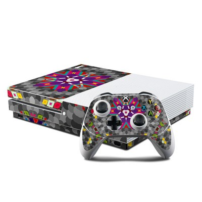 Microsoft Xbox One S Console and Controller Kit Skin - The Eye