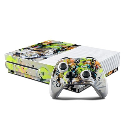Microsoft Xbox One S Console and Controller Kit Skin - Theory