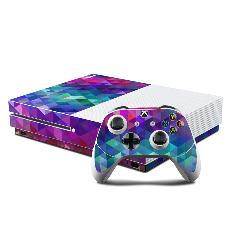 Video Game Accessories Faceplates, Decals & Stickers Skin Sticker Carbon Fiber Console And Controller Decal For Microsoft Xbox One S Bright In Colour