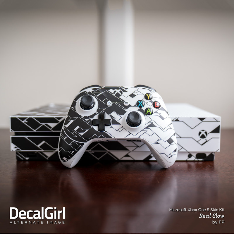 Microsoft Xbox One S Console and Controller Kit Skin - Real Slow