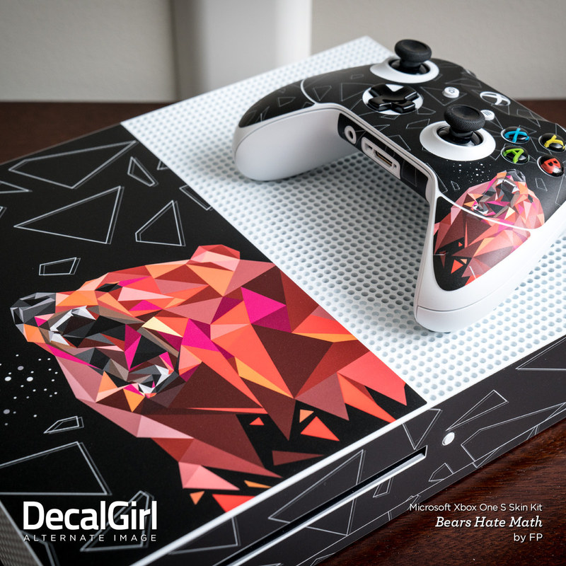 Microsoft Xbox One S Console and Controller Kit Skin ...