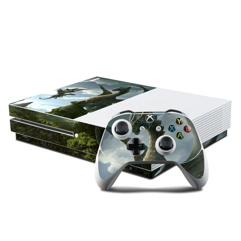 microsoft xbox one s console and controller kit skin first lesson
