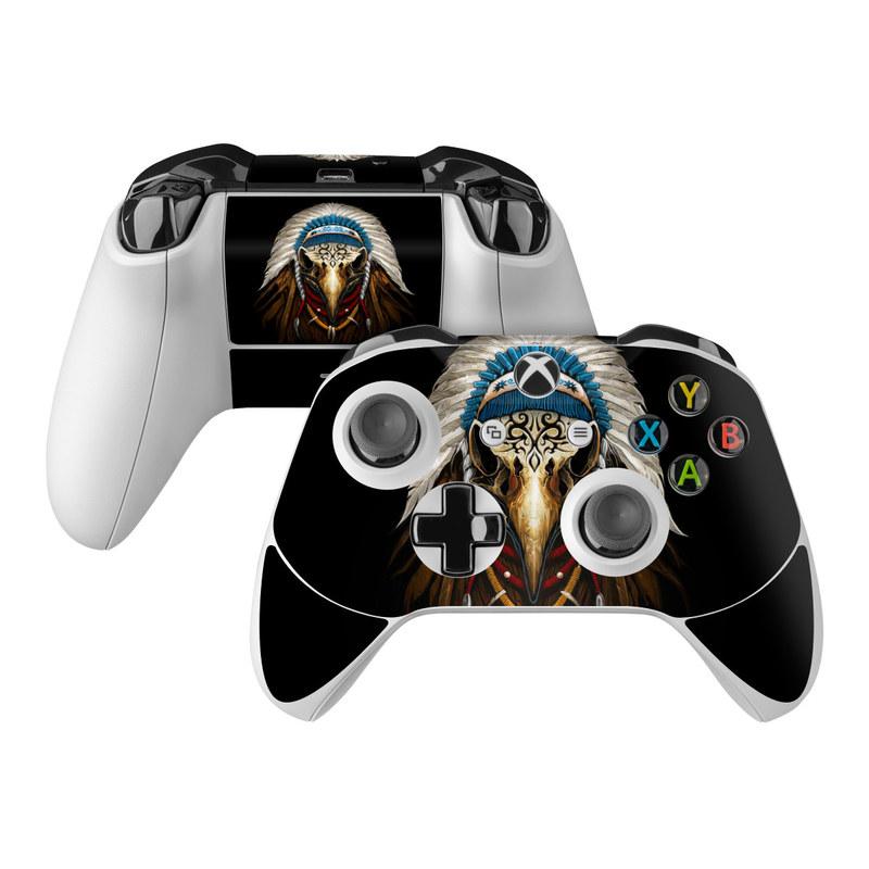 Eagle Skull By Abrar Ajmal: Microsoft Xbox One S Controller Skin