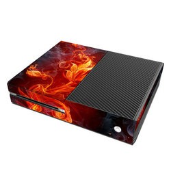 Microsoft Xbox One Skin - Flower Of Fire